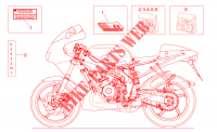 Manuels instructions et décal. Chassis 50 aprilia-moto RS 2000 32
