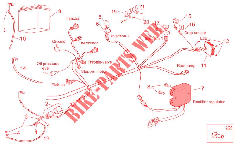Aprilia Atlantic Wiring Diagram - Wiring Diagrams